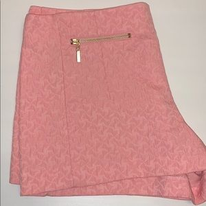 High Wasted Pink Shorts